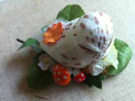 Owl and Mushrooms