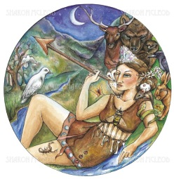 Artemis is the Ancient Greek Goddess of the wilderness, the hunt and wild animals, and fertility .