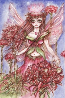 The Gymea Lilly Faery