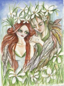 The wedding Flower Faeries