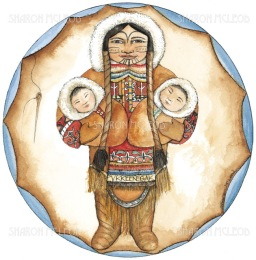Pukeenagak was the inuit birthing goddess. She embodied the spirit of the inuit women, and helped them give birth, mend and make clothes, and keep their children healthy and safe.